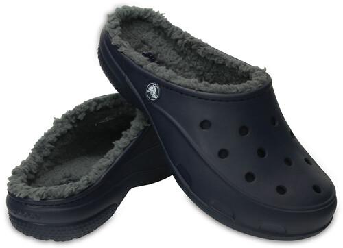Bleu Sandales Sur Campzfr Crocs Plushlined Jeu Femme Moins Freesail qIES7w4